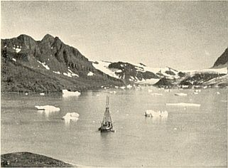 Mikis Fjord in the early 1930ies (Mikkelsen,1934)